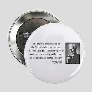"""Bertrand Russell 17 2.25"""" Button"""