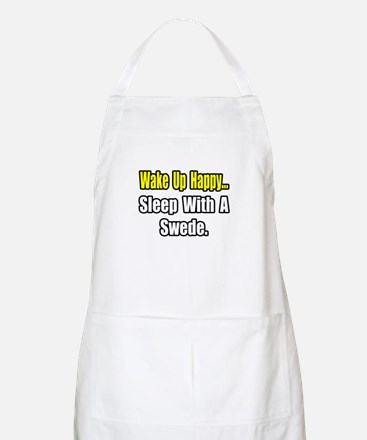 """...Sleep With a Swede"" BBQ Apron"