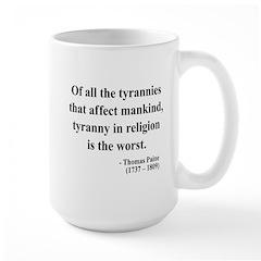 Thomas Paine 21 Large Mug