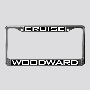Woodward Ave License Plate Frame