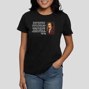 Thomas Paine 22 Women's Dark T-Shirt