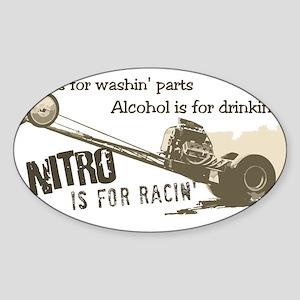 NITRO Oval Sticker