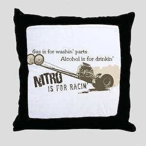 NITRO Throw Pillow
