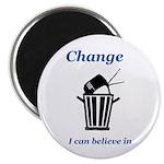 Change for the Better Magnet