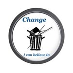 Change for the Better Wall Clock