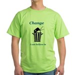 Change for the Better Green T-Shirt