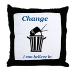 Change for the Better Throw Pillow