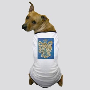 Blue Angel Painting Dog T-Shirt