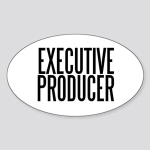 Executive Producer Oval Sticker