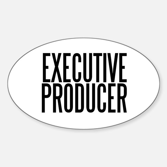 Executive Producer Oval Decal