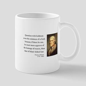 Thomas Jefferson 13 Mug