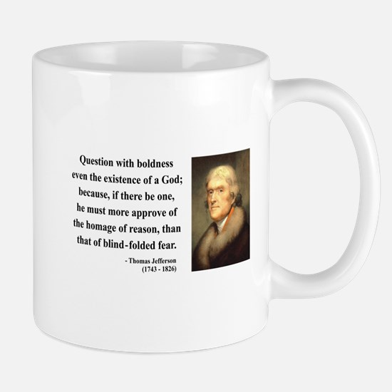 Thomas Jefferson 13 Mug