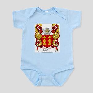 Vieira Family Crest Infant Creeper