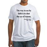 Benjamin Franklin 15 Fitted T-Shirt