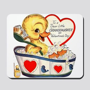 Ducky Valentine Mousepad