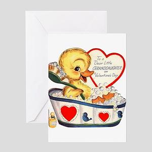 Ducky Valentine Greeting Card