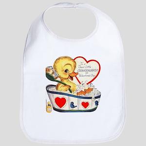 Ducky Valentine Bib