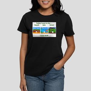 I Love Golf Women's Dark T-Shirt