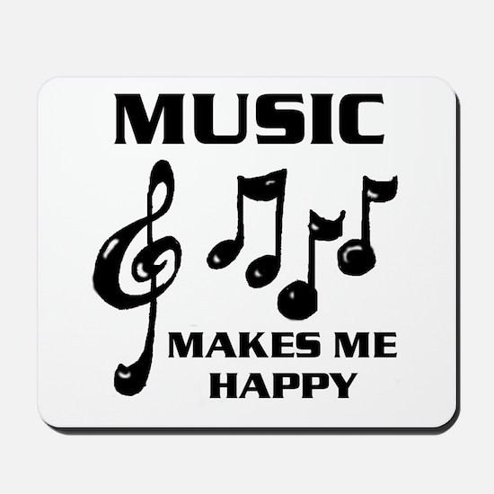 I LIVE FOR MUSIC Mousepad