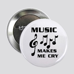 "I LIVE FOR MUSIC 2.25"" Button (10 pack)"