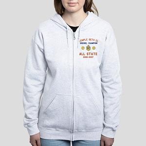 Dreidel Champion Women's Zip Hoodie