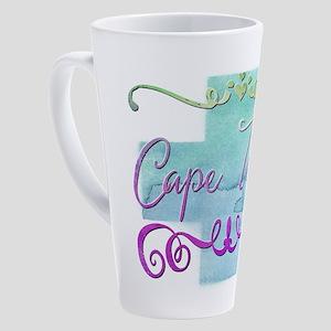 Cape Town 17 oz Latte Mug
