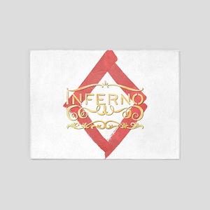 Inferno 5'x7'Area Rug