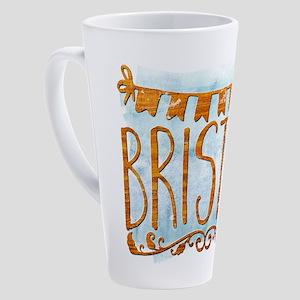 Bristol 17 oz Latte Mug