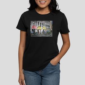 Savannah Georgia River Street Women's Dark T-Shirt