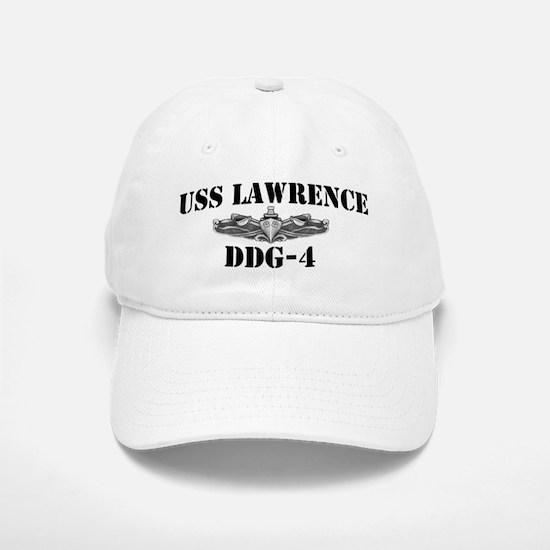 USS LAWRENCE Baseball Baseball Cap
