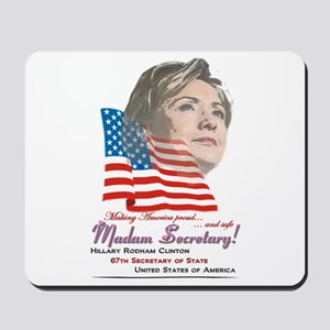 Madam Secretary! - Mousepad