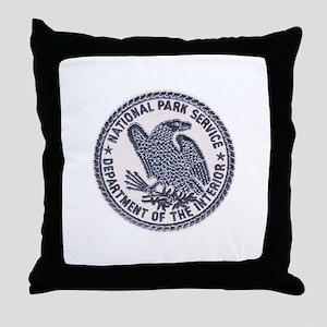 National Park Ranger Throw Pillow