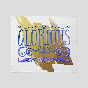 Glorious Throw Blanket