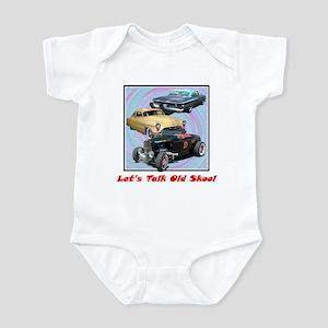 """Let's Talk Old Skool"" Infant Bodysuit"