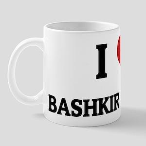 I Love Bashkir Horses Mug