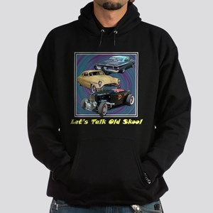 """Let's Talk Old Skool"" Hoodie (dark)"