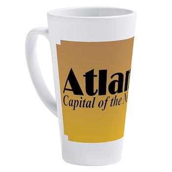 Capital Of The New South 17 Oz Latte Mug