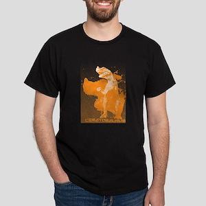 Yellow Ceratosaurs Dark T-Shirt