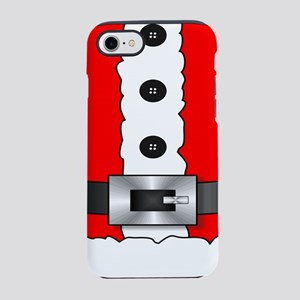 Christmas red santa suit iPhone 8/7 Tough Case
