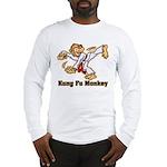 Kung Fu Monkey Long Sleeve T-Shirt