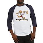 Kung Fu Monkey Baseball Jersey