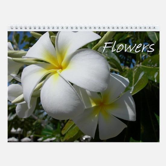 Flowers 2 Wall Calendar