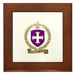 LORD Family Crest Framed Tile