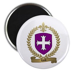 LORD Family Crest Magnet