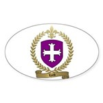 LORD Family Crest Oval Sticker
