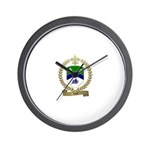 LORE Family Crest Wall Clock