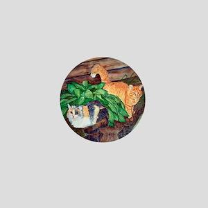 Cat Friends:Salem & Logan Mini Button