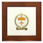 LOREAU Family Crest Framed Tile