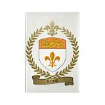 LOREAU Family Crest Rectangle Magnet