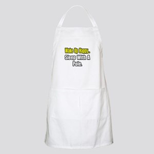 """...Sleep With a Pole"" BBQ Apron"